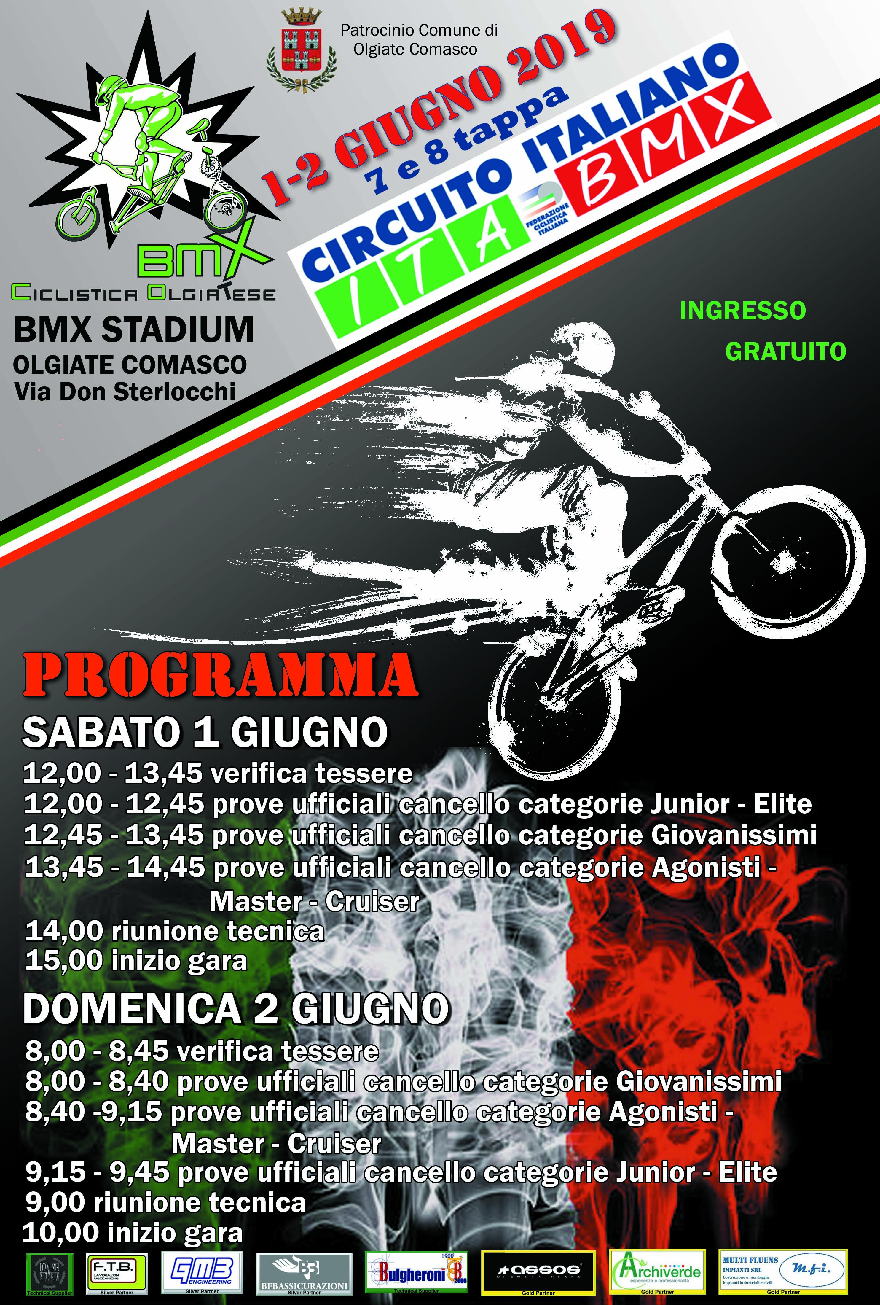 7&8 Prova Circuito Italiano Olgiate Comasco